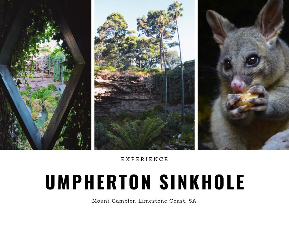 Umpherton Sinkhole, Mount Gambier