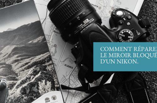 Miroir bloqué d'un Nikon D5100