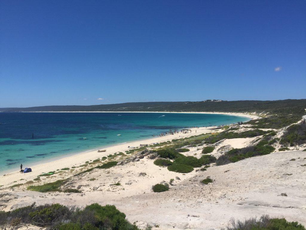 Hamelin Bay et ses eaux turquoises