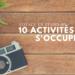 Activités pour s'occuper