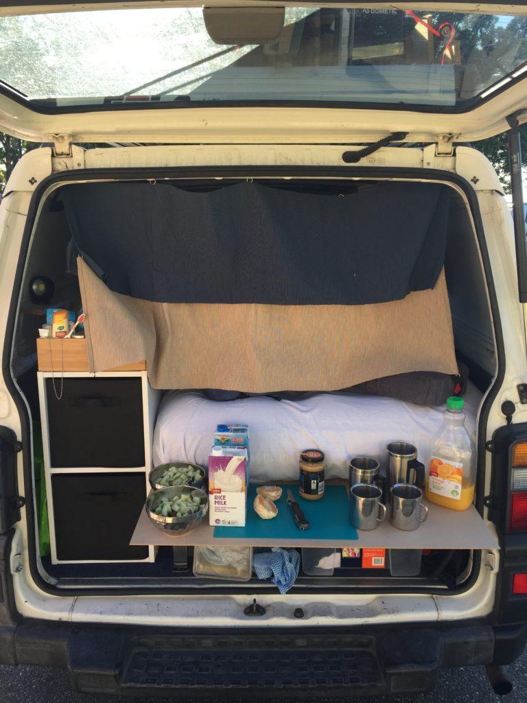 recettes simples et saines pour roadtrip et camping