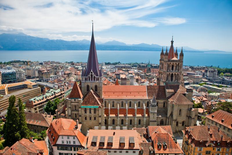 Suisse Lausanne cathédrale