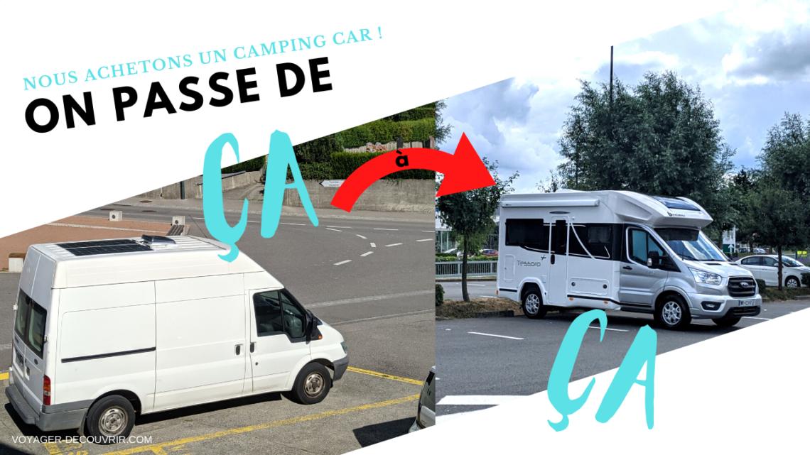 Camping-car neuf