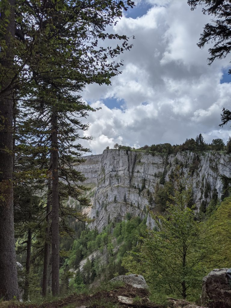 Randonnée suisse jura