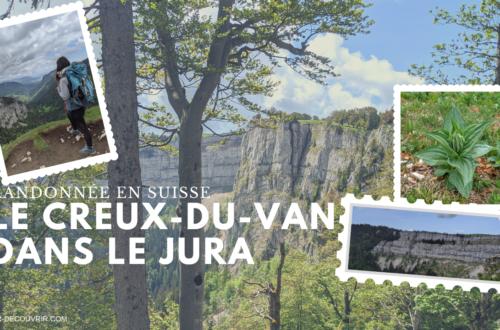 randonnée suisse creux-du-van jura