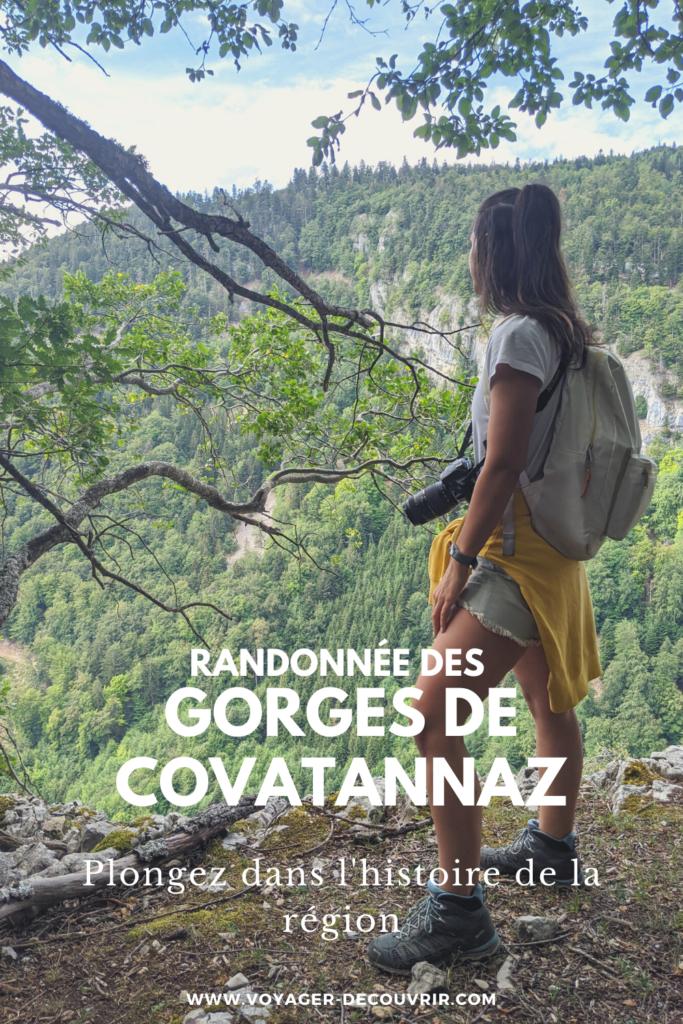 Gorges covatannaz via salina