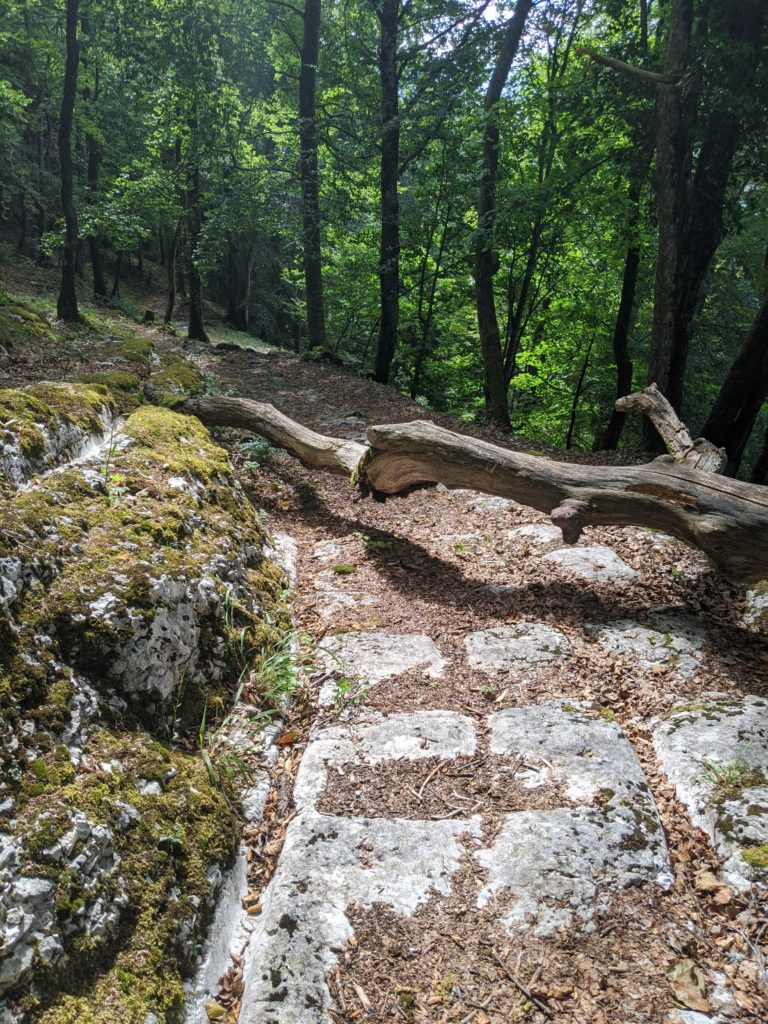 Via Salina gorges