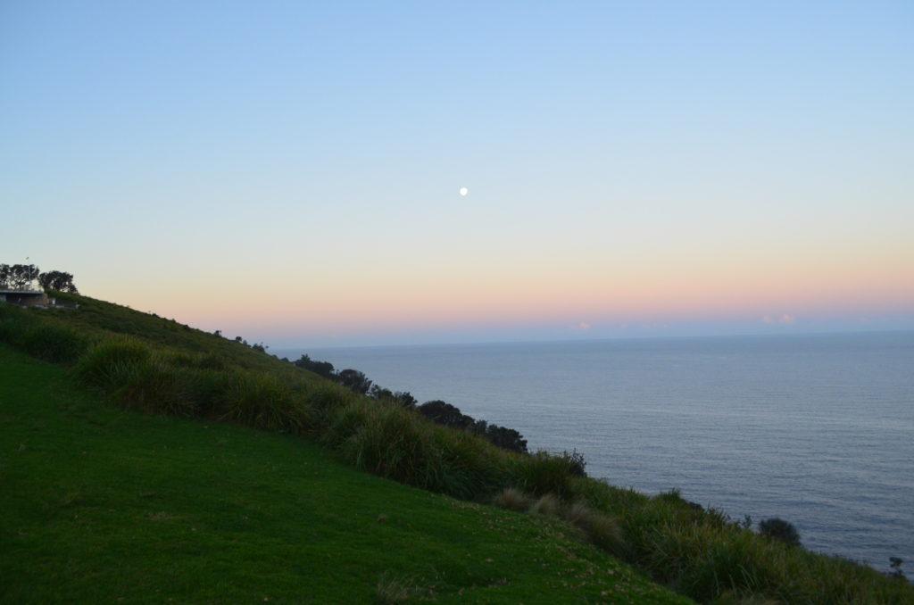 Wollongong bald hill australia